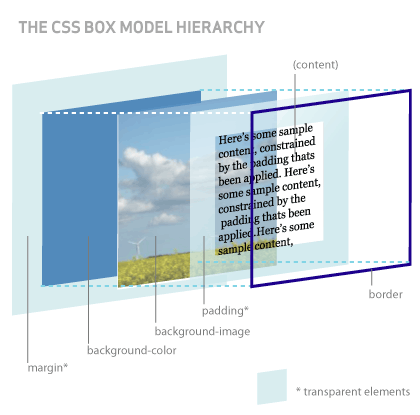 Box Model Diagram Summary